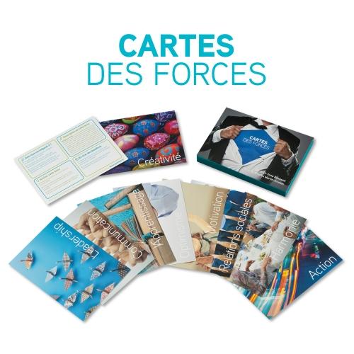 cartes des forces positran